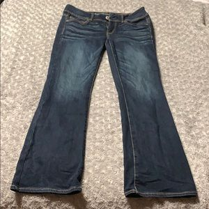 American Eagle jeans, bootcut size 8